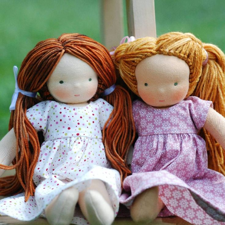 """52 kedvelés, 10 hozzászólás – Ani Pollák (@a.home.with.nature) Instagram-hozzászólása: """"I loved all the moments of sewing these two sweet dolls - every little choises which formed them so…"""""""