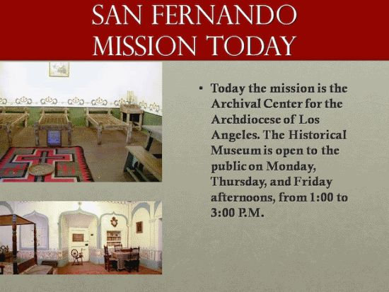 California Missions PowerPoint