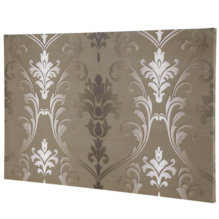 iLiv Palladio Mink Canvas #Wallpaper - Aldiss.com #boudoir