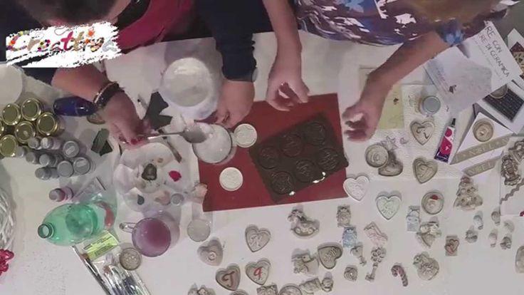 VIDEO #CreattivaChannel Creare con la Polvere Ceramica