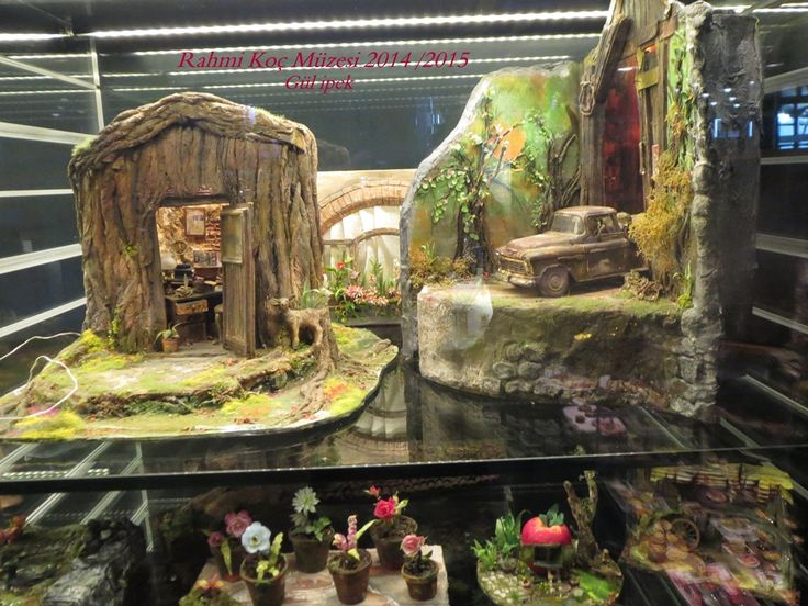 Diorama  #Rahmi_M_Koç_muzesi  #diorama #gulipeksanat #miniaturefood #miniature #sergi #2014