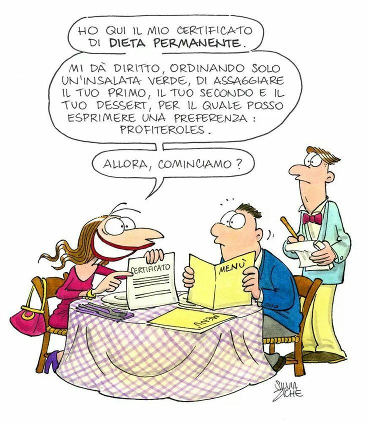 certificato di dieta permanente
