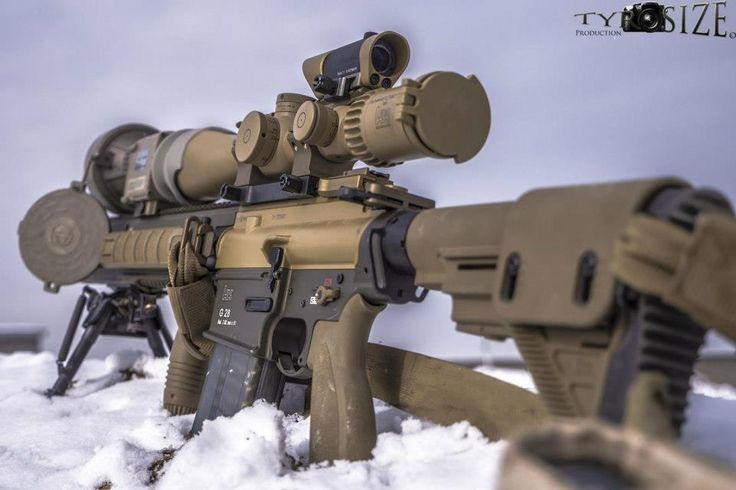 G28 | A DMR-System – far more than just another rifle with a scope. http://www.heckler-koch.com/en/military/products/precision-rifles/g28/g28/overview.html