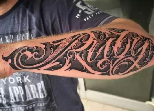 189 best realistic 3d stone and muerto tattoos images on for Stone tattoo letters