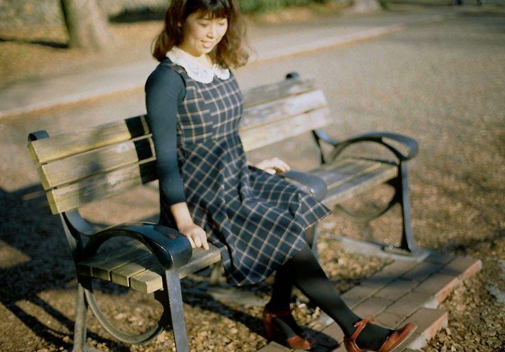 Inokashira park, kodak portra 160, Nikon New FM2, (from ' Fashion Flight ' )