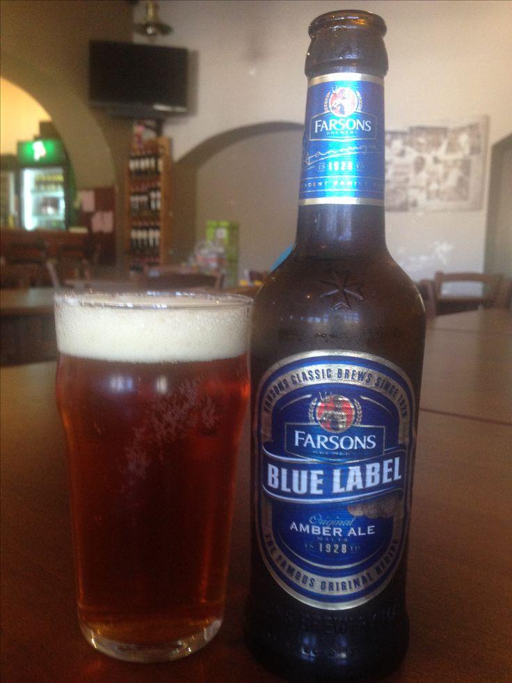 #365 BLUE LABEL Amber Ale ⭐️⭐️⭐️