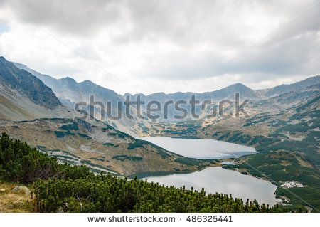 Damian Gretka. Microstock Photography. mountain view from the trail / mountain landscape