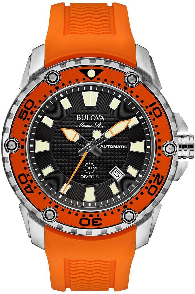 @bulova  Watch Marine Star #bezel-fixed #bracelet-strap-rubber #brand-bulova #case-material-steel #case-width-47mm #date-yes #delivery-timescale-4-7-days #dial-colour-black #fashion #gender-mens #movement-automatic #official-stockist-for-bulova-watches #packaging-bulova-watch-packaging #style-sports #subcat-marine-star #supplier-model-no-98b207 #warranty-bulova-official-3-year-guarantee #water-resistant-200m