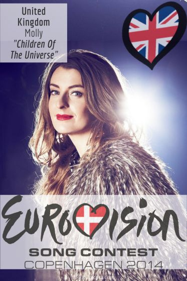 "Eurovision Song Contest 2014: United Kingdom - ""Children Of The Universe"" by Molly"