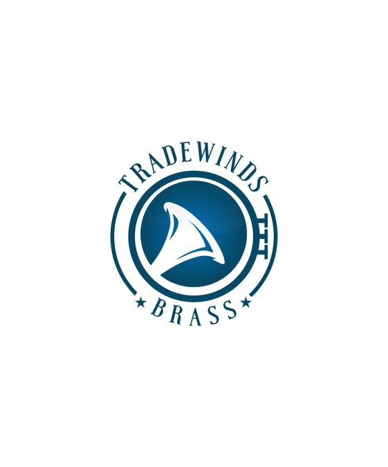 Create a logo for Tradewinds Brass, a brass quintet that entertains and educates. by Guillermoqr
