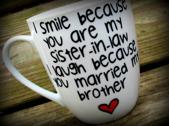 Wedding Gifts For Sister And Brother In Law: Best 25+ Sister In Law Ideas On Pinterest