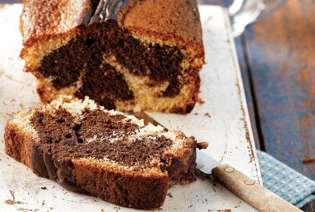 Δίχρωµο κέικ της µανούλας