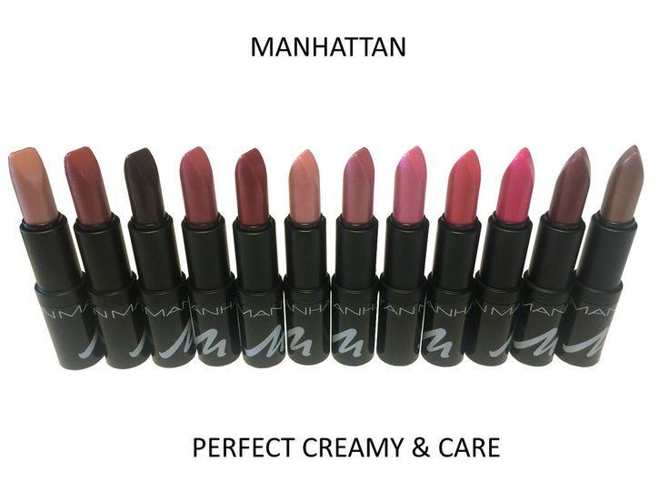 MAHATTAN Lippenstift PERFECT CREAMY & CARE Lipstick mit *Farbauswahl* Neu  | eBay