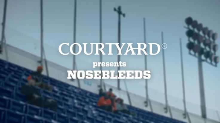 Courtyard Marriott Nosebleed Seats TV Commercial ad advert 2016  Courtyard Marriott TV Commercial • Courtyard Marriott advertsiment • Nosebleed Seats • Courtyard Marriott Nosebleed Seats TV commercial • Courtyard Present Nose Bleeds - SeatingSo High Up You Can See L.A, The Contour Of The Earth And Mexico - Who's Playing Again? - At Courtyard We're All About The Game.  #courtyardmarriott #travel #Marriott #shopping #giftcard #gift #Calgary #RT #work #winterwedding #win #AbanCommercials