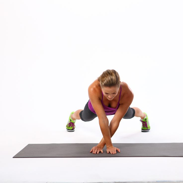Bored with the usual planks? Take your plank for a sideways walk with this move that'll target the core as well as the upper body. If shapely deltoids are your passion, this move will make them happen.