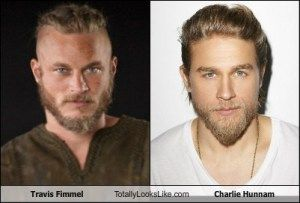 Charlie Hunnam VS Travis Fimmel I thought it was the same guy!