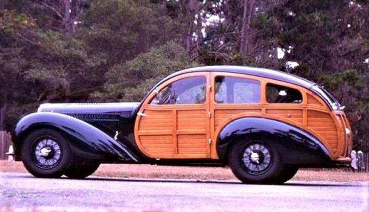 1946 Delahaye 135 Guillore Break De Chasse Camion Militaire Automobile Ancienne Photo De Voiture