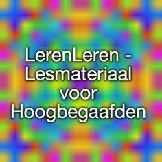 LerenLeren - Lesmateriaal voor Hoogbegaafden