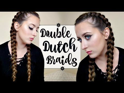 getlinkyoutube.com-HOW TO: DUTCH/FRENCH BRAID YOUR OWN HAIR