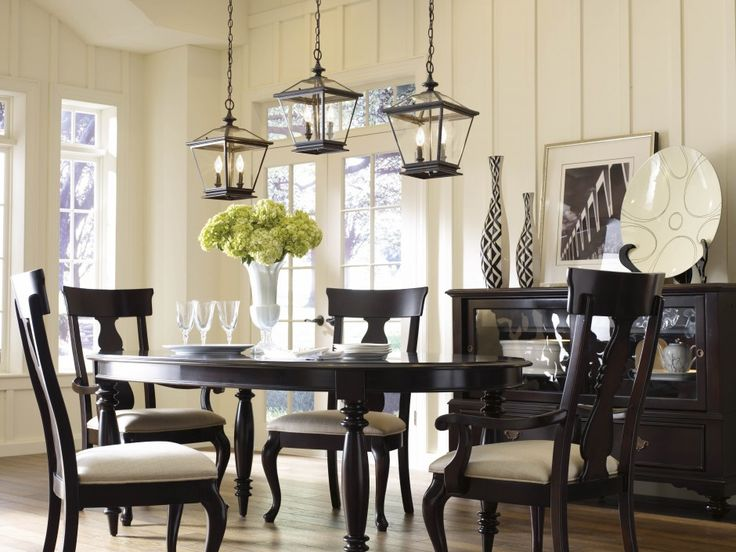 When It Comes To Pendant Lighting The More Merrier Dining Room