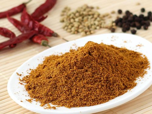 Sambar Powder - Make sambar msala podi at home by following the step by step photo recipe.