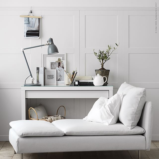 Med en panel av köksfronterna #SÄVEDAL fästa direkt på väggen lyfter du rummet till nya höjder. Tre rum med tre olika uttryck och funktioner, och oändliga möjligheter. Inspireras och skapa just din panelhörna. 👉 Bläddra för att se fler bilder! Läs mer och se vilka produkter vi använt på IKEA.se/livethemma (länk i bio)