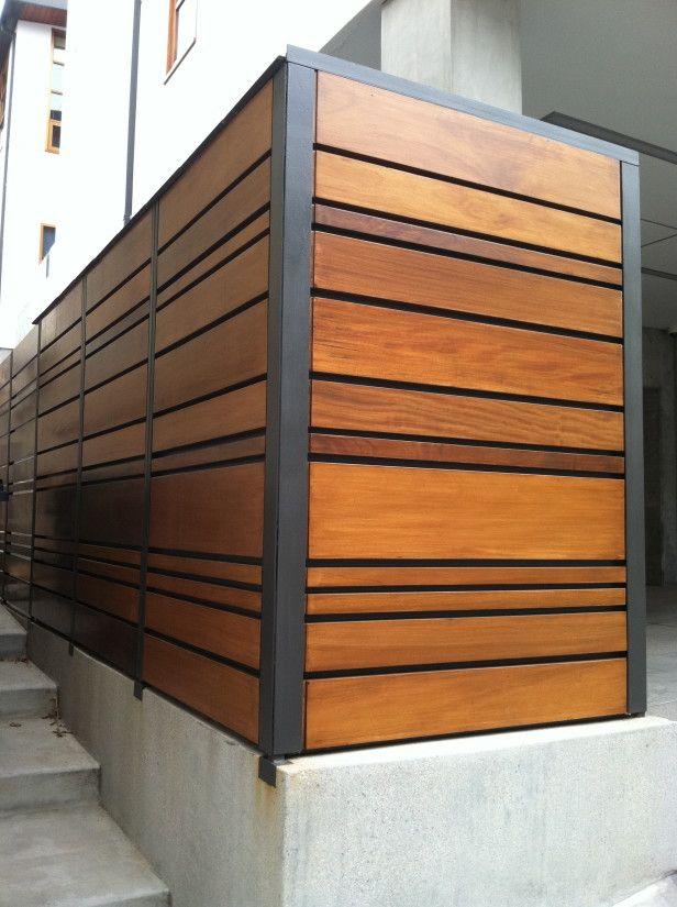 West coast style garden pinterest west coast style for Steel divider design