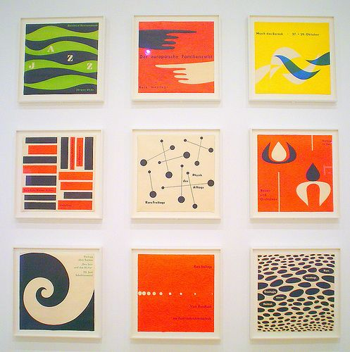 MID-CENTURY GRAPHIC DESIGN - MOMA by designshrine, via Flickr