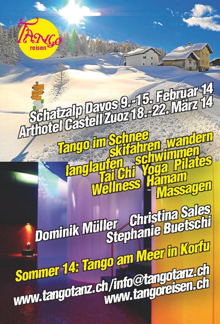 www.tangotanz.ch - Tango im Schnee    Davos, Switzerland