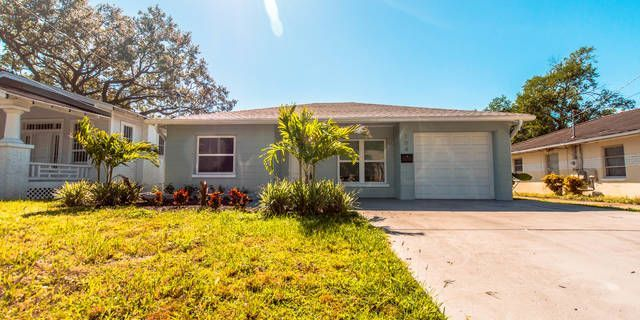 """Have you been looking for a tastefully updated home with a covered lanai and a large backyard in the heart of Seminole Heights? Look no further. This 2 bedroom home also has a one car attached garage with washer and dryer included! The kitchen features slow-close 42"""" cabinets, granite countertops, as well as stainless steel appliances. Centrally located, this home affords a short commute to downtown Tampa, as well as an easy drive to St Pete beaches. At time of move-in, Tenant costs will…"""