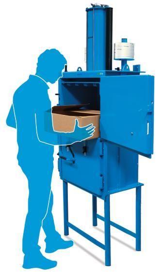 Miltek 102 Cardboard & Plastic Baler