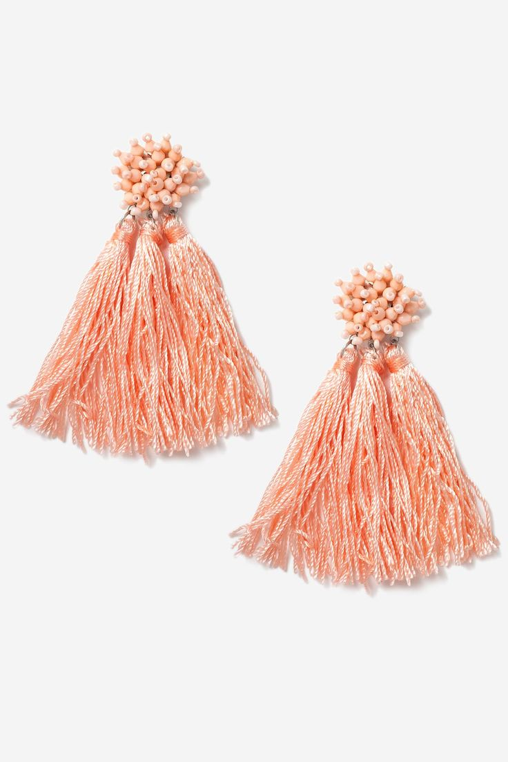 One of 2017's biggest trends, we still can't get enough of the statement earring. If you'd rather not blow the budget on this kind of thing then the high street has never been better – opt for fringing for a boho feel and tassels for De La Renta-inspired style.