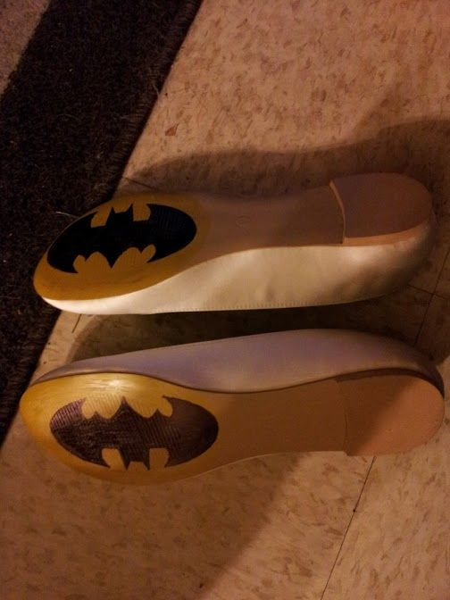 batman wedding slippers - Google Search
