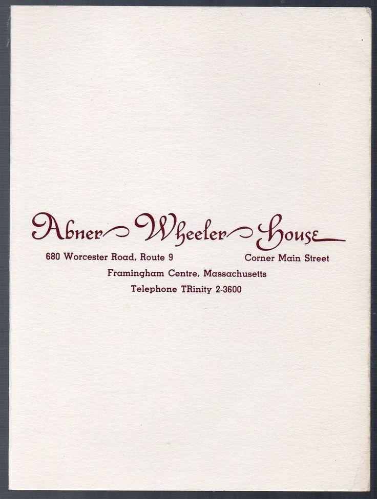 19 best italian line ocean liner images on pinterest cruise vintage abner wheeler house party menu framingham ma circa 1950 fandeluxe Images