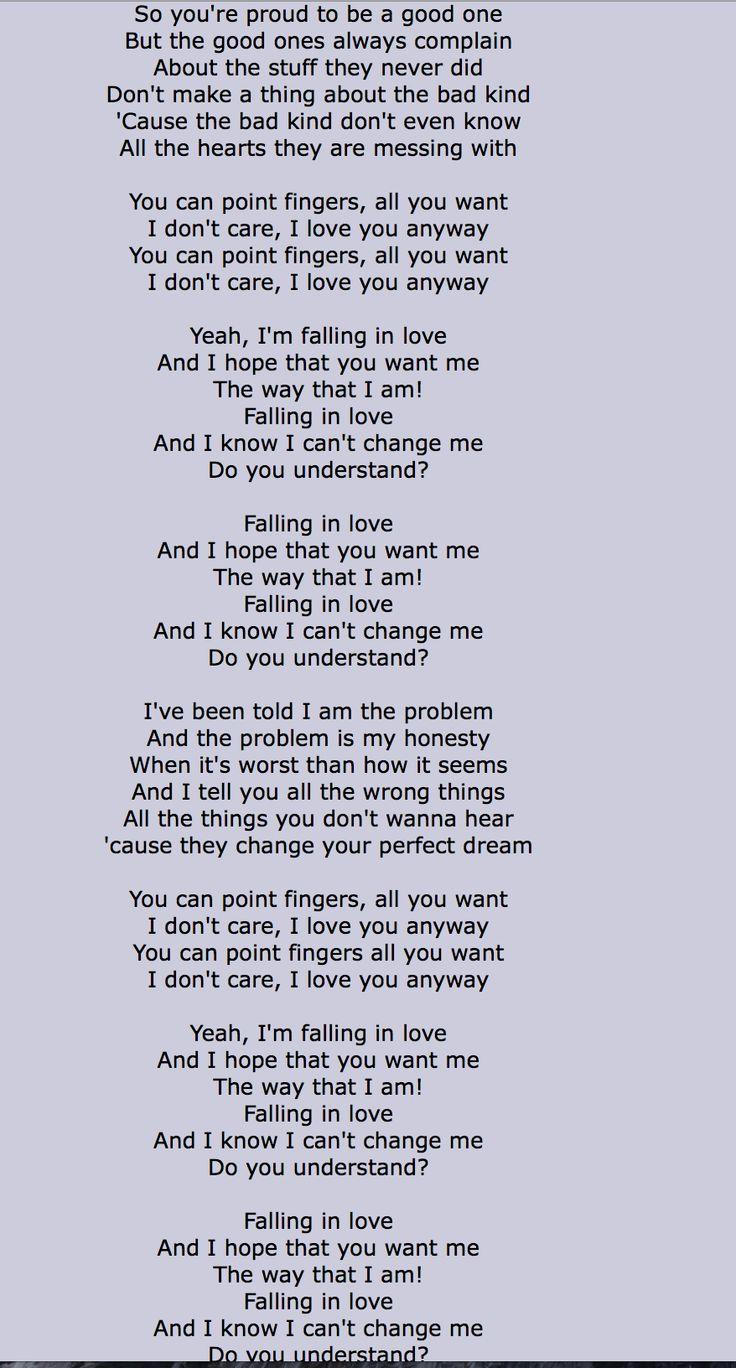 Songs like the way i am