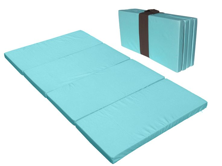 Big Kid Sleep Mat, in Blue. Finally, a comfortable sleep mat for my child! By far the most comfortable nap mat on the market. A real mattress that provides real support and comfort unlike other naps mats, which are basically a sleeping bag. Also becomes a bench when folded. Great for sleepovers, camping, hotels, grandma´s... Removable and washable cover too!