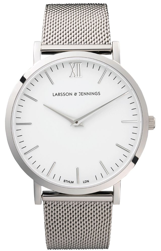 Established in STHLM and LDN, Larsson & Jennings is an Anglo-Swedish label creating contemporary watches which combine classic British aesthetic and Swedish minimalistic design. The unisex watches modernise classic style and take design inspiration from our Swedish and British roots.