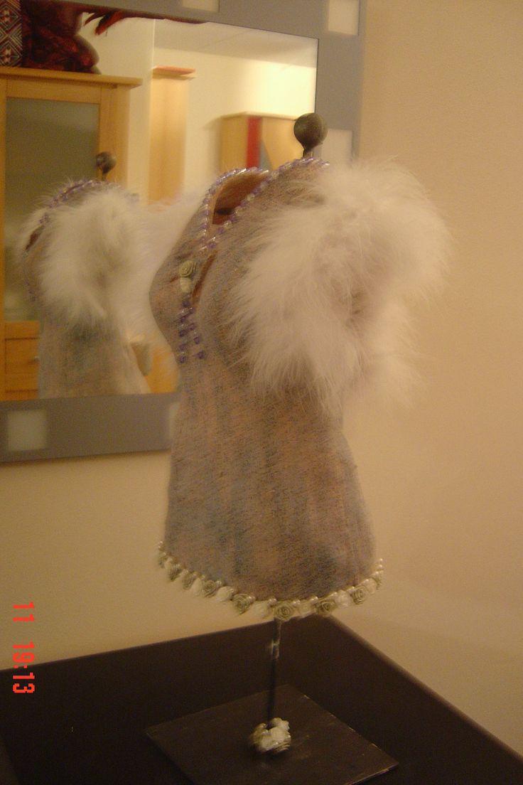 Nogmaals jurk van gipsverband