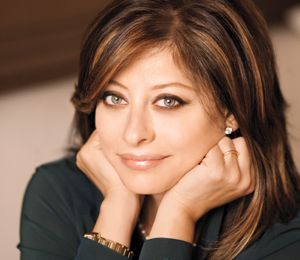 Maria Bartiromo:  First woman to report on television from the floor of the New York Stock Exchange ( NYSE).