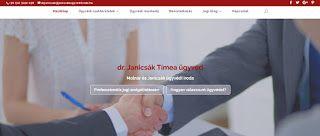 dr. Janicsák Tímea ügyvéd: Megújult ügyvédi irodám honlapja. Volna kedve megnézni? #ügyvédbudapest #ingatlanügyvéd #cégesügyvéd
