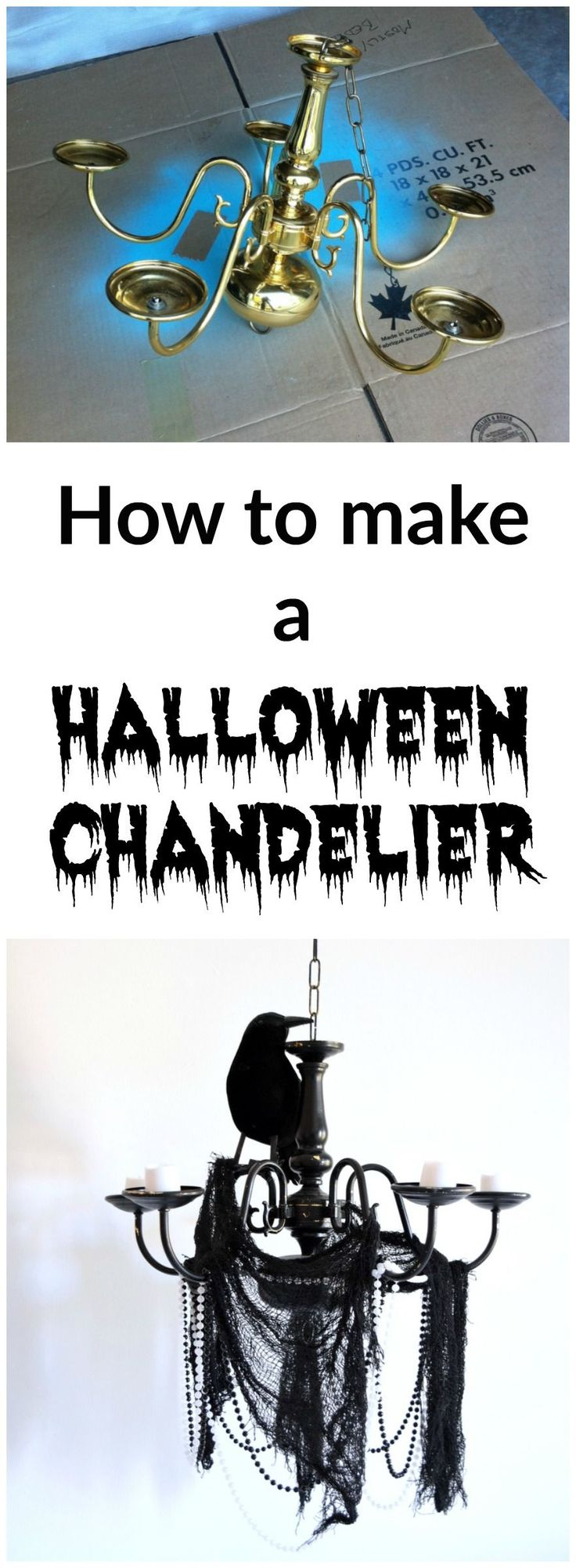 List of Pinterest Halloween Chandelier pictures