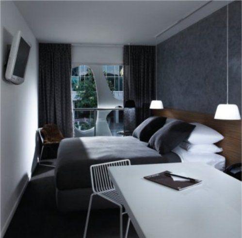 hotel interior design - Hotel room design, Hotels and Hotel interiors on Pinterest