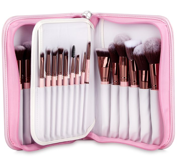 Introducing Luxie's signature Rose Gold 30 piece collection assembled with all the brushes you need to fulfill your makeup desires. These high quality vegan and cruelty-free brushes are also encased i