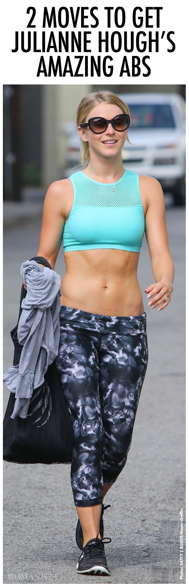 The two moves that get Julianna Hough those amazing, sexy, rock hard abs.