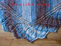 shawl / chusta / Semele / szal / knitting / druty / Druciki Dory