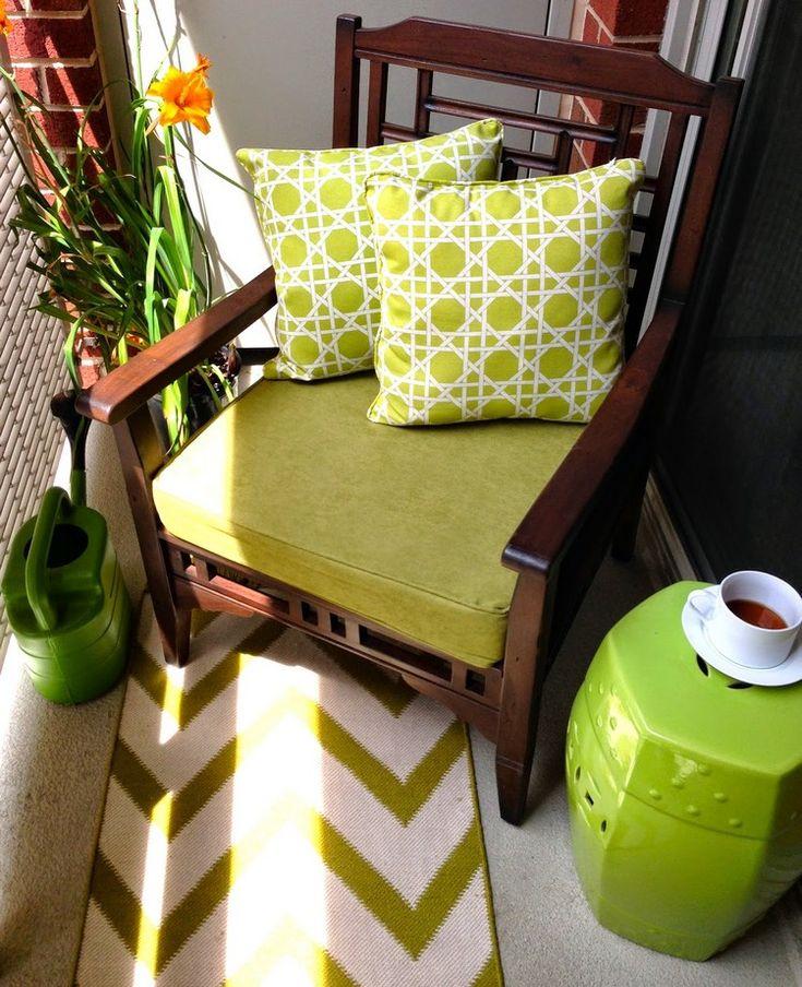 Orientalische Deko Möbel Modern  Inszeniert Grüner Gartenhocker Beistelltisch