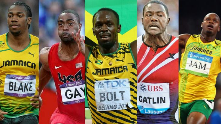 TOP 10 FASTEST 100M RACES OF ALL TIME | Usain Bolt •Justin Gatlin •Yohan...