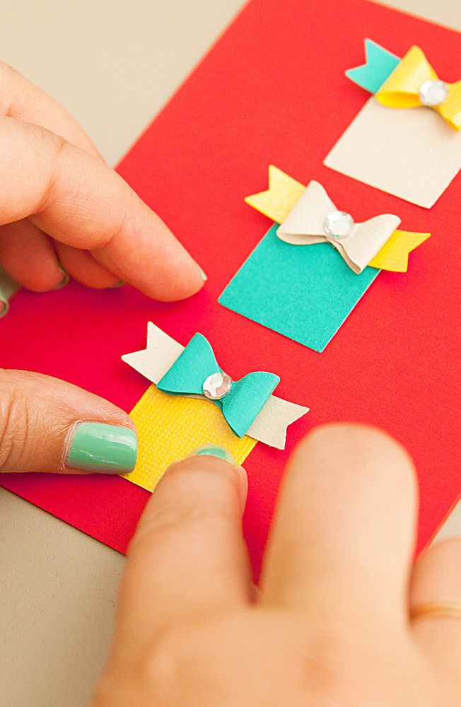 Send holiday cheer with a handmade Christmas card! We've put together a handful of DIY card ideas that are festive and fast to make. Plus, this is a craft that's easy enough for any skill level to handle. Click in for more.
