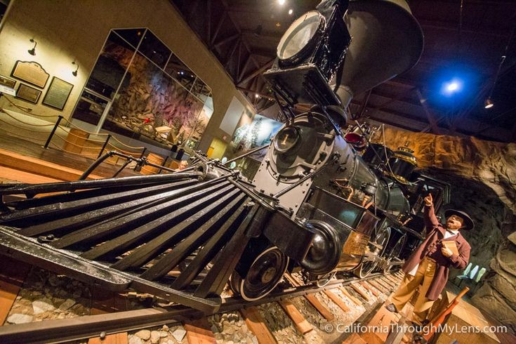 The train museum in Sacramento is one of the best train museums in the United States and one of the best museums in California. It has tons of interactive exhibits on railroad history all throughout the state.