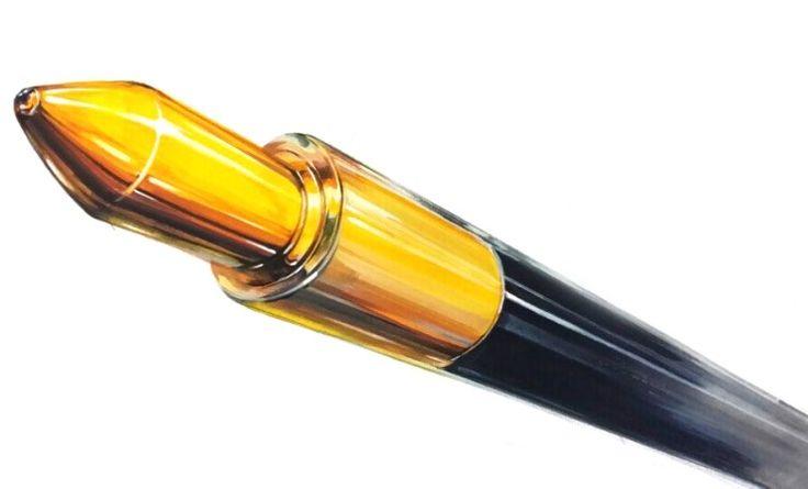 포항창아.시대정신미술학원 모나미볼펜 기초디자인 개체묘사 개체표현 색채정밀